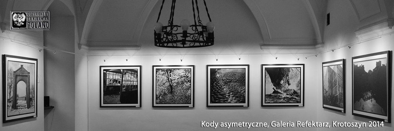 Kody asymetryczne, Galeria Refektarz, Krotoszyn 2014